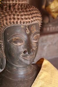 """Bouddha et son """"troisième oeil"""""""