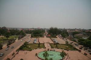 Vientiane vue d'en haut
