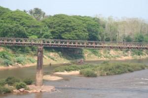 Vue d'un pont depuis le pont