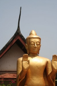 Bouddha à Wat Mai