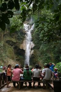 La cascade de Tad Kouang Si