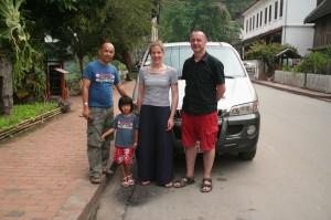 Christophe KITTIRATH, Aluna (sa fille, 5 ans), Marie et Ben
