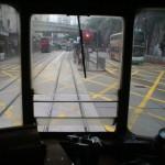 Vue depuis l'étage supérieur du tramway