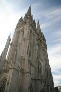 Quimper sa (schieve) cathédrale
