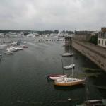 L'arrière port de Concarneau et les remparts