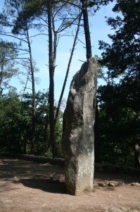 """Menhir de grande taille (aussi appelé """"Le Géant"""")"""